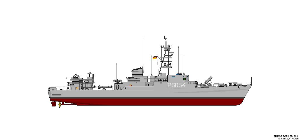 Thetis (Klasse 420) vs Hai (Projekt 12) Fskl4212
