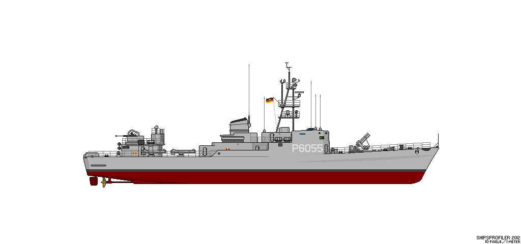 Thetis (Klasse 420) vs Hai (Projekt 12) Fskl4213