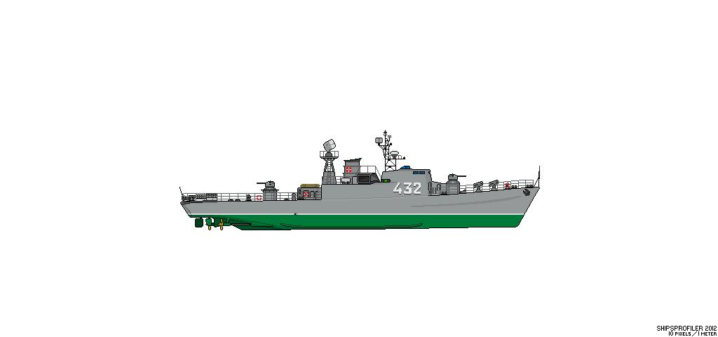 Thetis (Klasse 420) vs Hai (Projekt 12) Sc_hai10