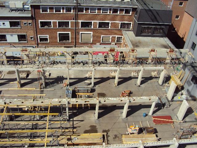 chantier centre bruxelle Romain17