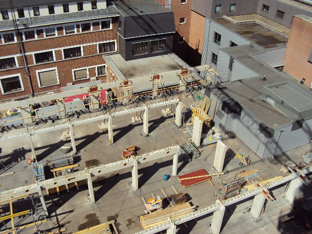 chantier centre bruxelle Romain18