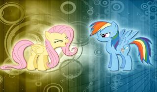 Rainbow Dash's test room