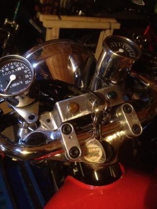 Suite...lancement projet café racer xj 400 Photo_47