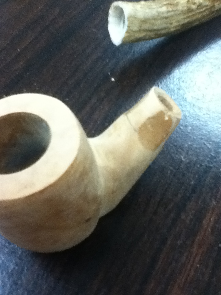 My first pipe....A weekend DIY project Photo_11