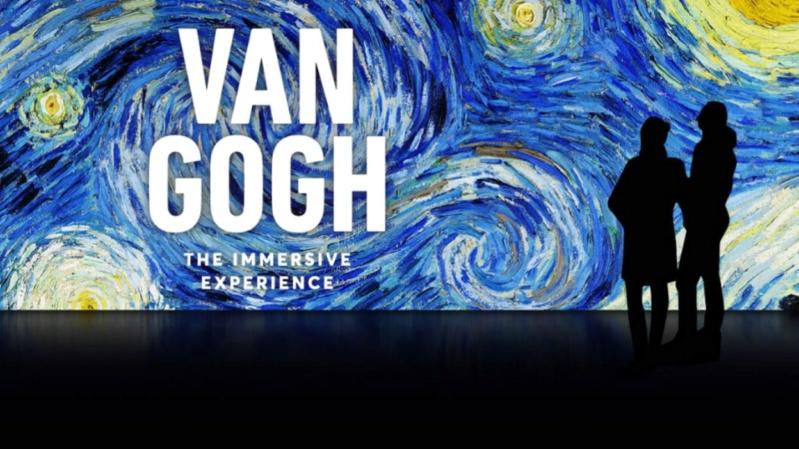 """""""Van Gogh en immersion"""" - Exposition temporaire à la Bourse de Bruxelles en Belgique !!  20d16f10"""