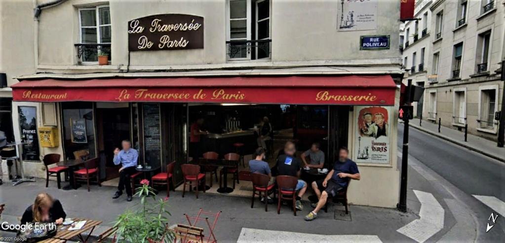 """""""La Traversée de Paris"""" un arêt au 45 Rue Poliveau,  Paris, France !! 45_rue12"""