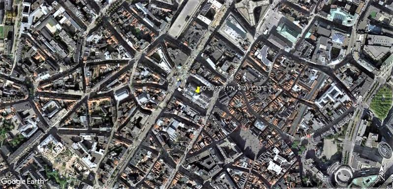"""""""Van Gogh en immersion"""" - Exposition temporaire à la Bourse de Bruxelles en Belgique !!  Bourse10"""