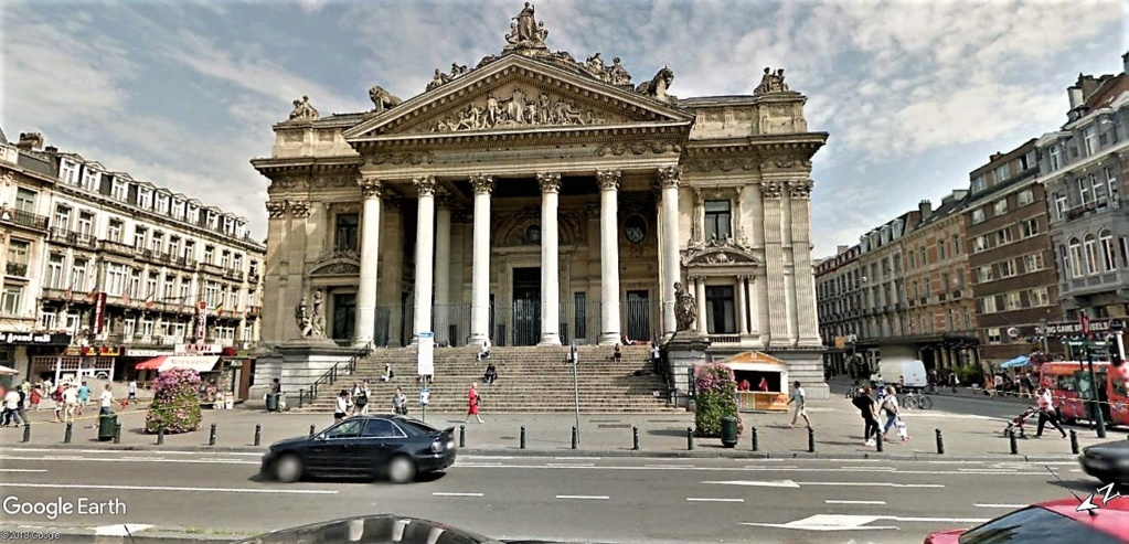 """""""Van Gogh en immersion"""" - Exposition temporaire à la Bourse de Bruxelles en Belgique !!  Bourse11"""
