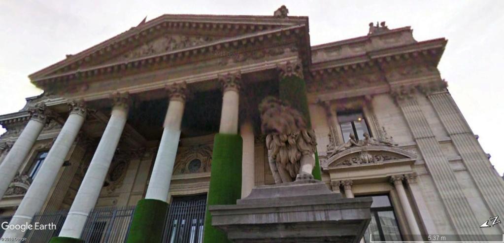 """""""Van Gogh en immersion"""" - Exposition temporaire à la Bourse de Bruxelles en Belgique !!  Bourse12"""