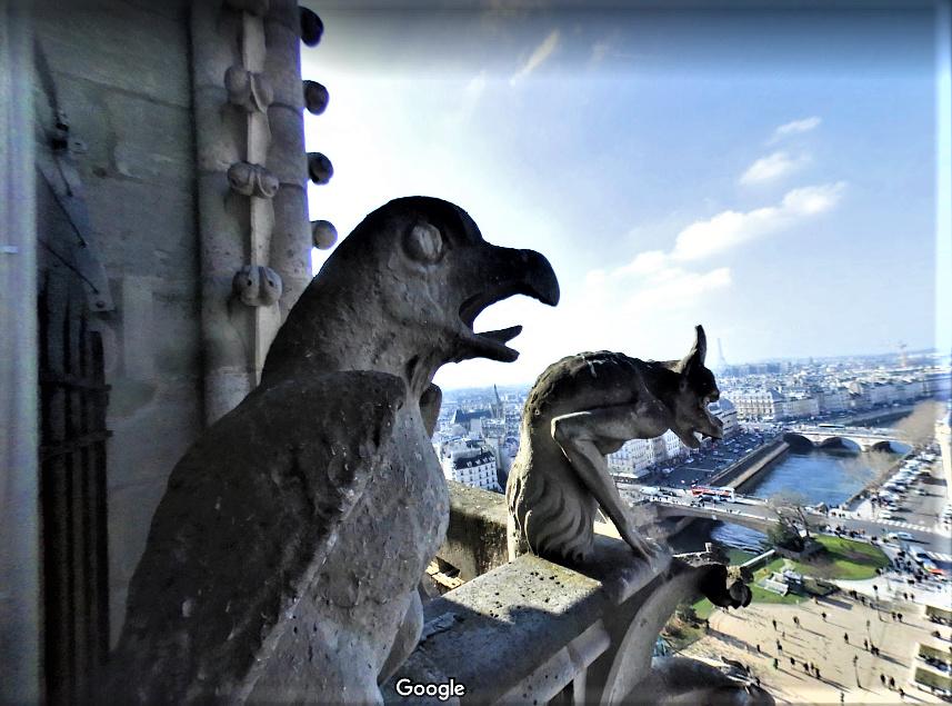 Sauvegarde virtuelle, visuelle  & mémorielle de la  Cathédrale Notre Dame de PARIS Chimzo10