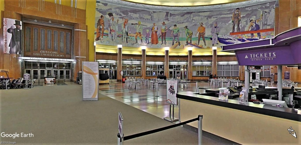 Cincinnati Museum Center à l'Union Terminal de Cincinati dans l'Ohio aux États-Unis. Cincin13