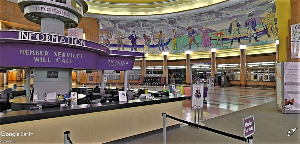 Cincinnati Museum Center à l'Union Terminal de Cincinati dans l'Ohio aux États-Unis. Cincin14