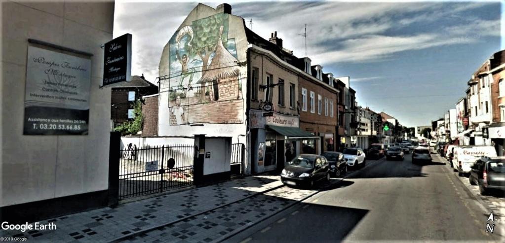 STREET VIEW : les fresques murales en France - Page 24 Fresqu13