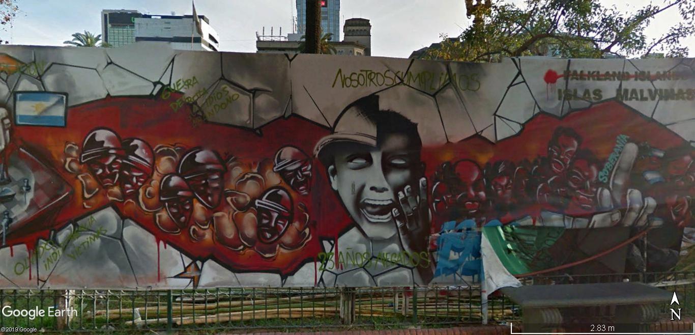 STREET VIEW : les fresques murales - MONDE (hors France) - Page 24 Fresqu14