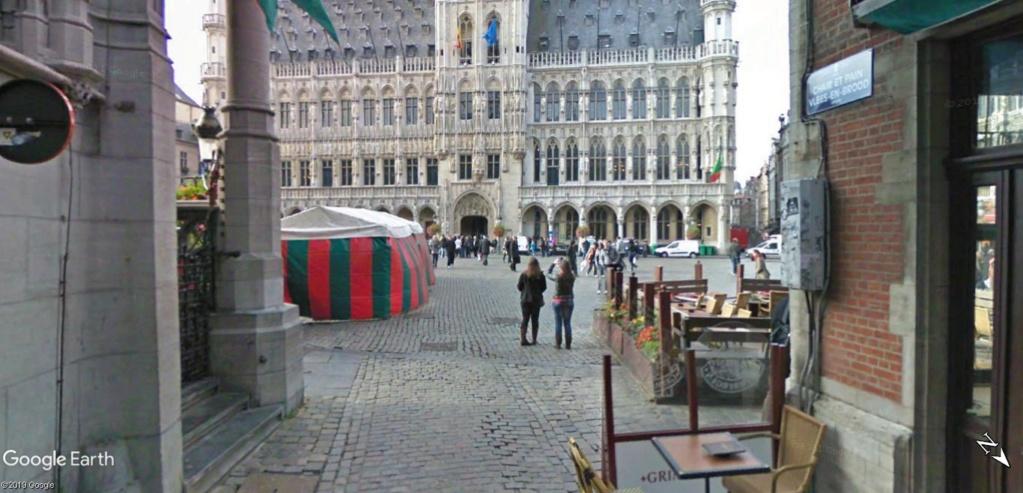 Le marché de Noël à Bruxelles en Belgique. Hztel_10