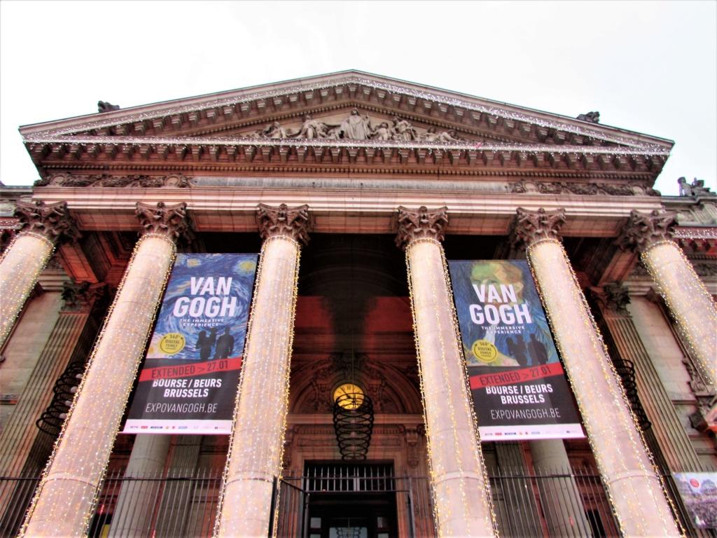 """""""Van Gogh en immersion"""" - Exposition temporaire à la Bourse de Bruxelles en Belgique !!  Img_3519"""