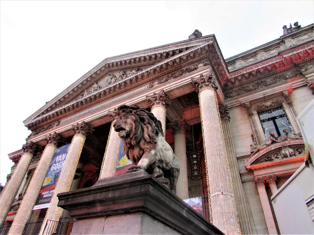 """""""Van Gogh en immersion"""" - Exposition temporaire à la Bourse de Bruxelles en Belgique !!  Img_3520"""