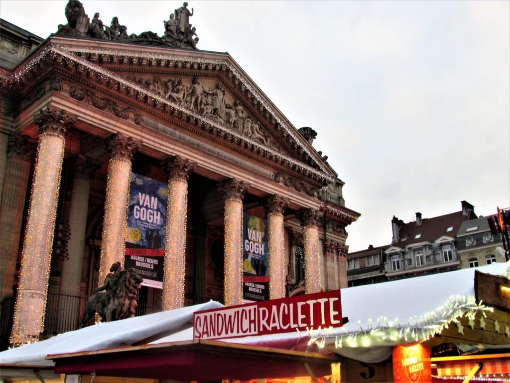 Le marché de Noël à Bruxelles en Belgique. Img_3535