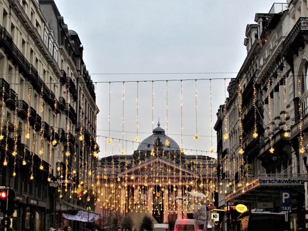 Le marché de Noël à Bruxelles en Belgique. Img_3536