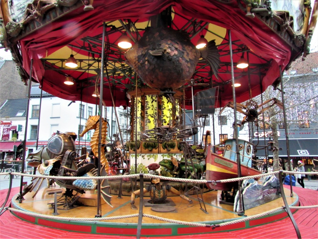Le marché de Noël à Bruxelles en Belgique. Img_3537