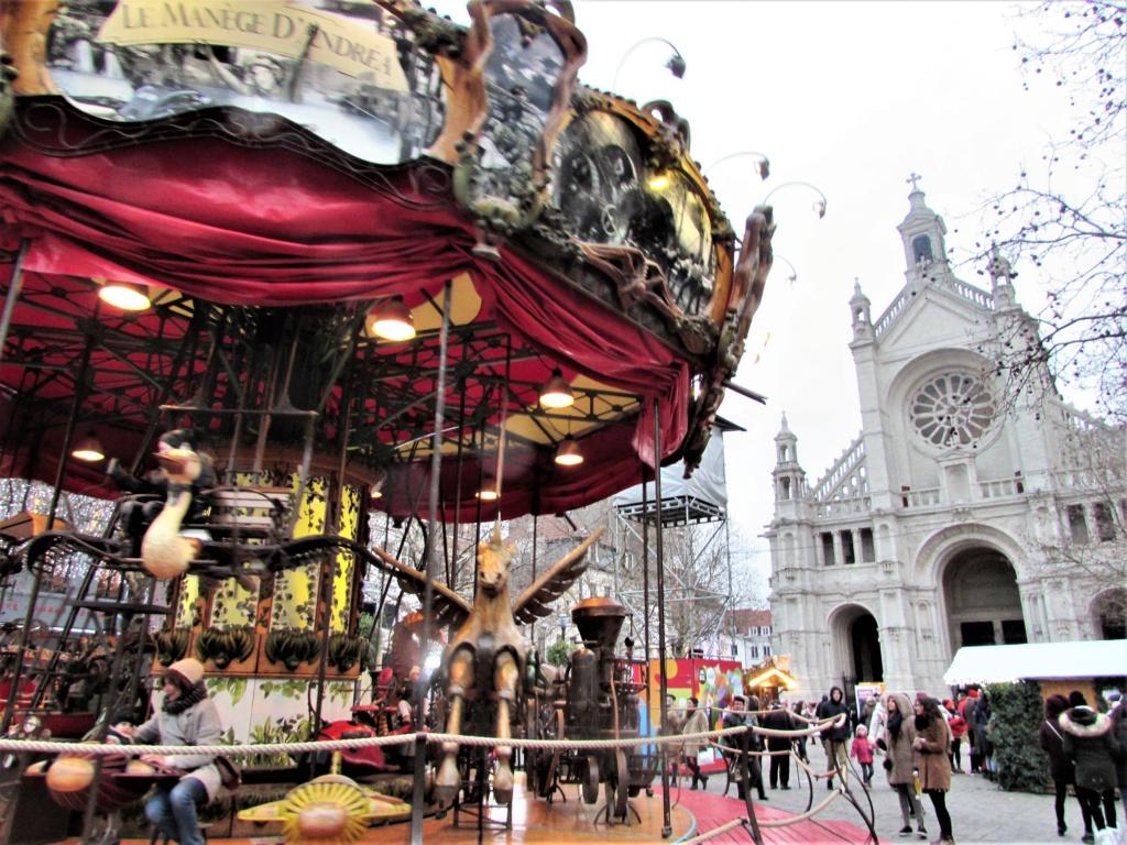 Le marché de Noël à Bruxelles en Belgique. Img_3538