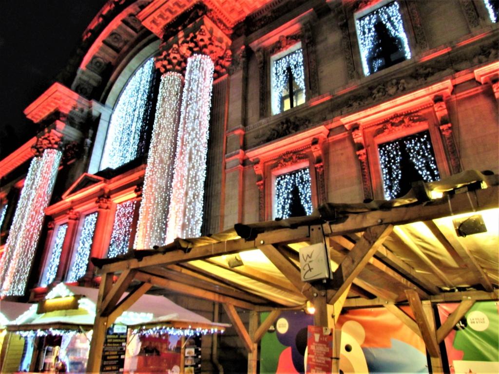 Le marché de Noël à Bruxelles en Belgique. Img_3616