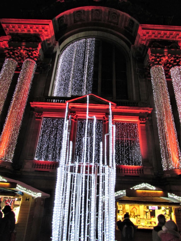 Le marché de Noël à Bruxelles en Belgique. Img_3617
