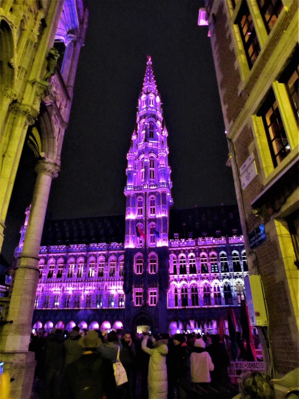 Le marché de Noël à Bruxelles en Belgique. Img_3625