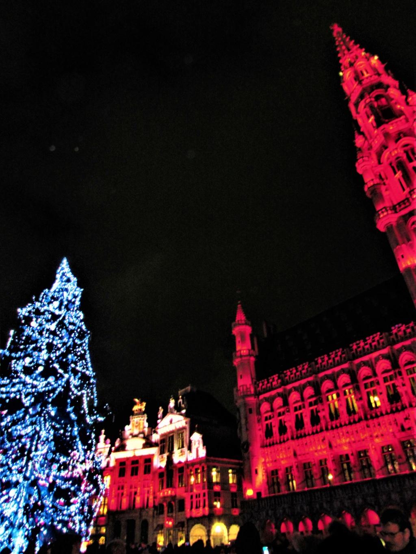 Le marché de Noël à Bruxelles en Belgique. Img_3626
