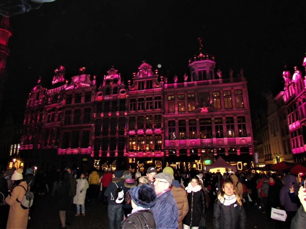 Le marché de Noël à Bruxelles en Belgique. Img_3628
