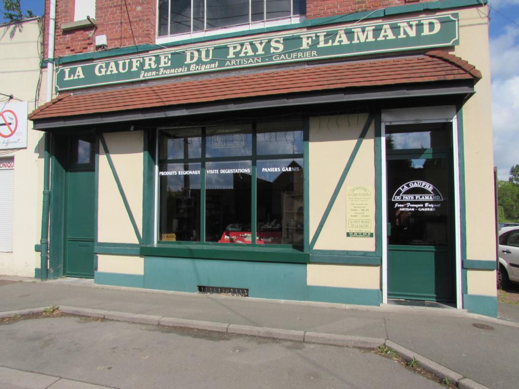 Le Petit Musée de la gaufre à  Houplines en France. Img_4312