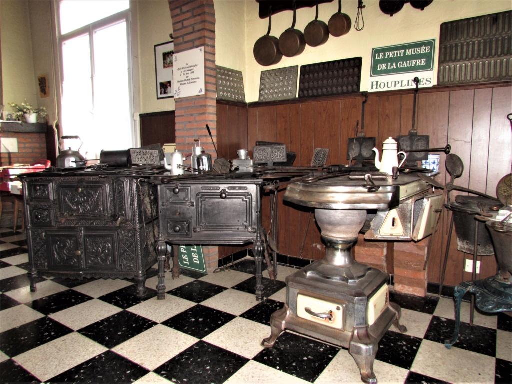 Le Petit Musée de la gaufre à  Houplines en France. Img_4317