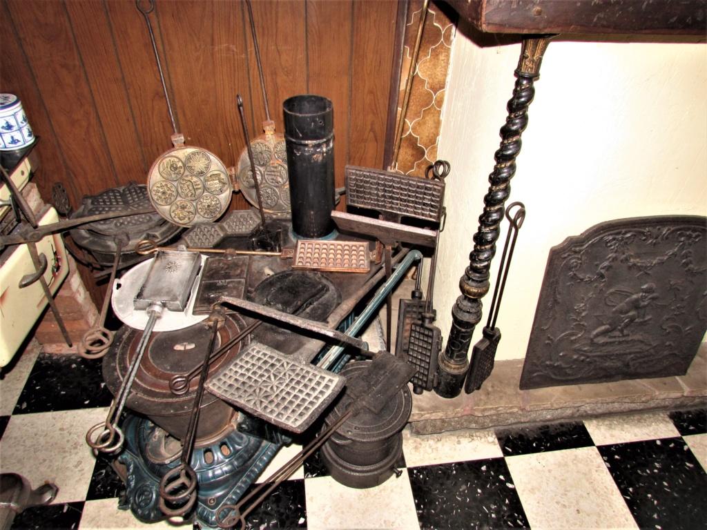 Le Petit Musée de la gaufre à  Houplines en France. Img_4318