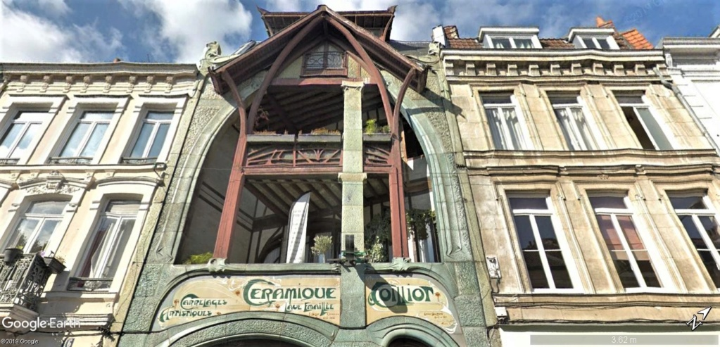 STREET VIEW : les maisons art nouveau  - Page 2 Maison14