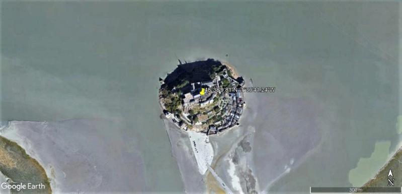 Visite Google Earth du Mont-Saint-Michel en France !! !! Mont-s10