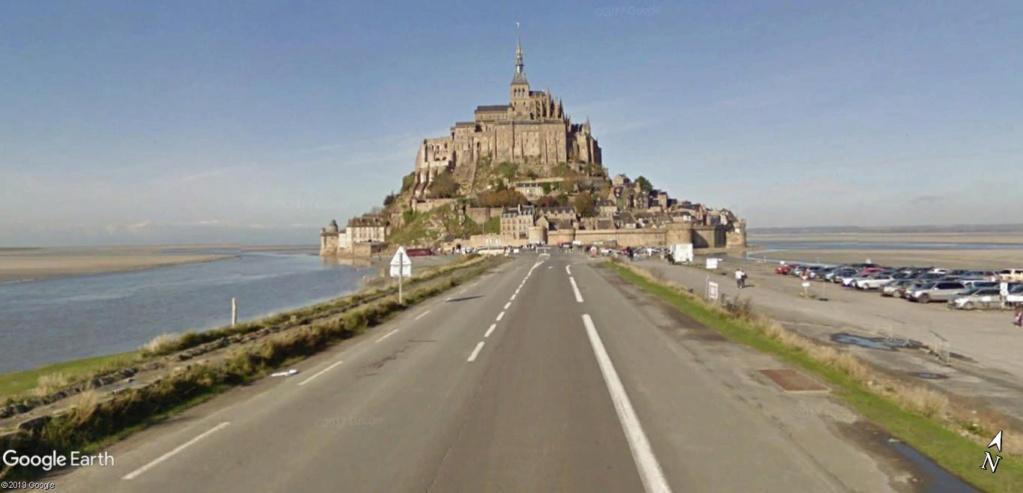 Visite Google Earth du Mont-Saint-Michel en France !! !! Mont-s11