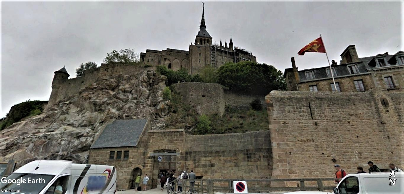 Visite Google Earth du Mont-Saint-Michel en France !! !! Mont-s12