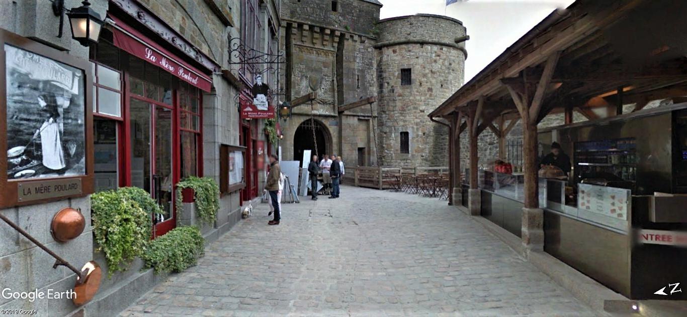 Visite Google Earth du Mont-Saint-Michel en France !! !! Mont-s14