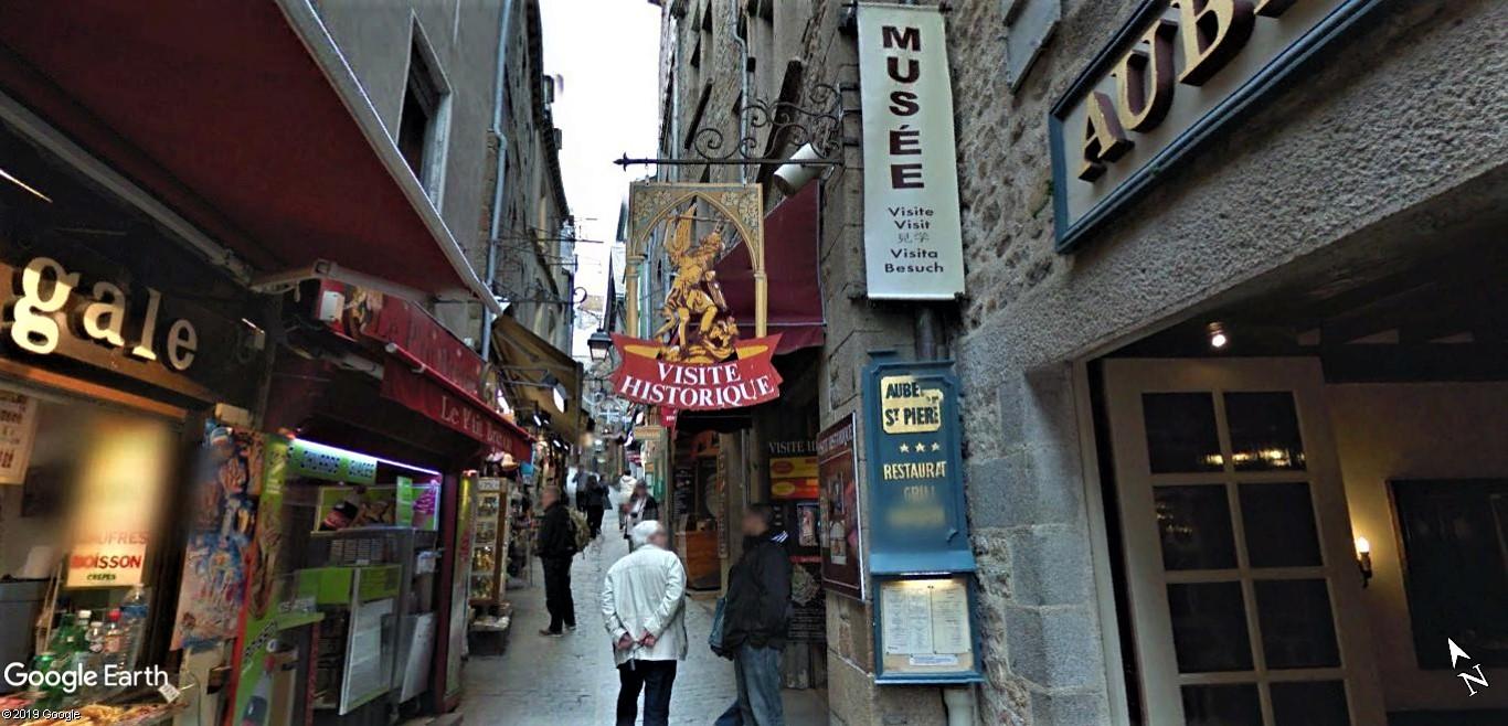 Visite Google Earth du Mont-Saint-Michel en France !! !! Mont-s15