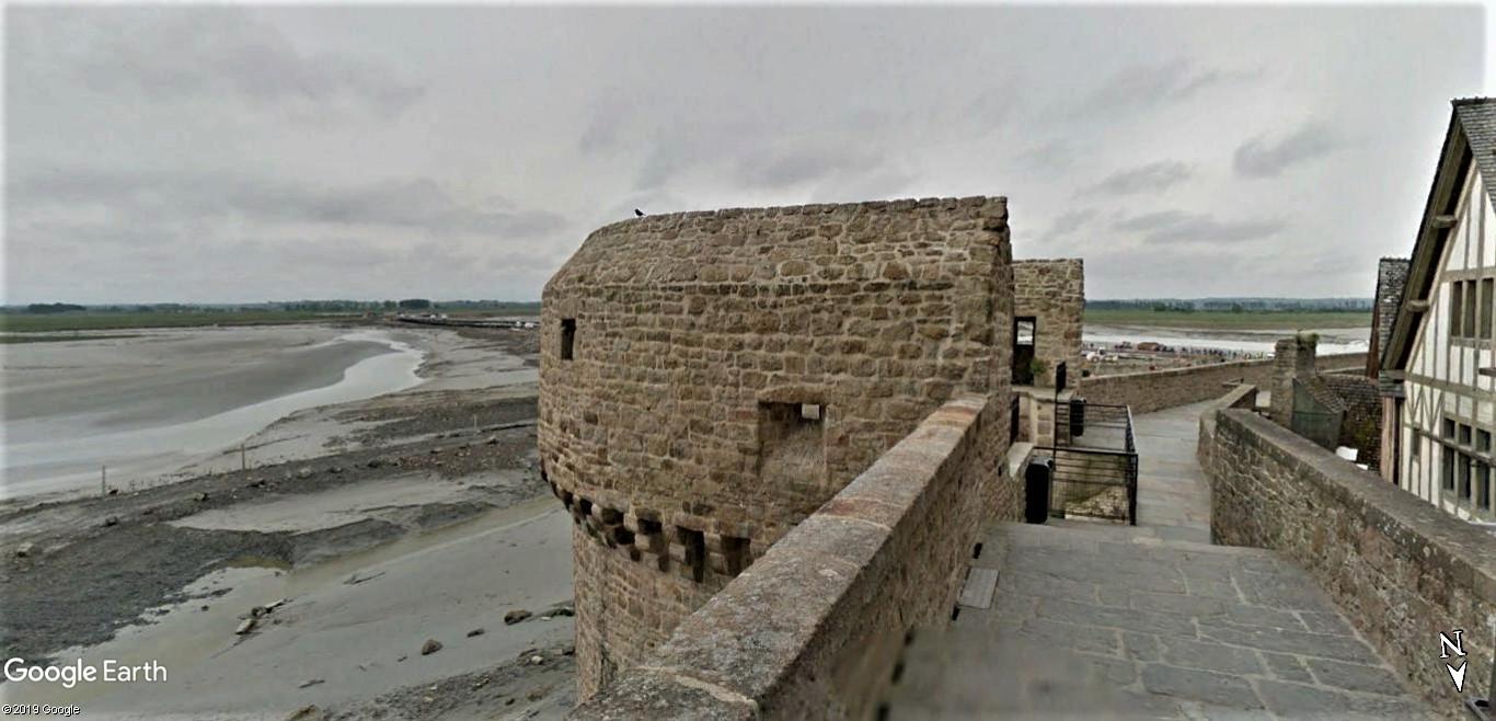 Visite Google Earth du Mont-Saint-Michel en France !! !! Mont-s18