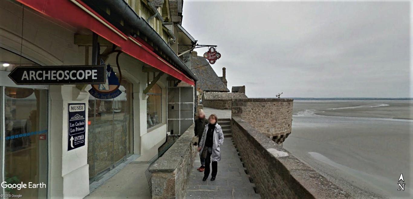 Visite Google Earth du Mont-Saint-Michel en France !! !! Mont-s19