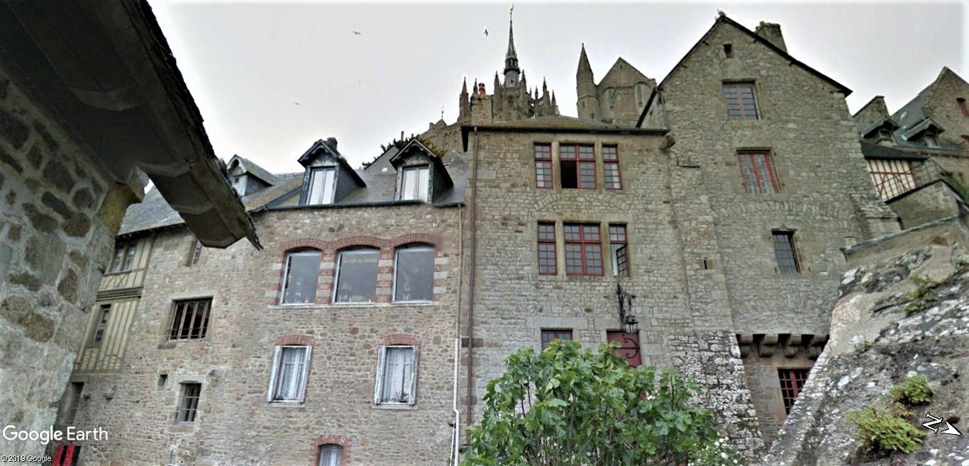 Visite Google Earth du Mont-Saint-Michel en France !! !! Mont-s20