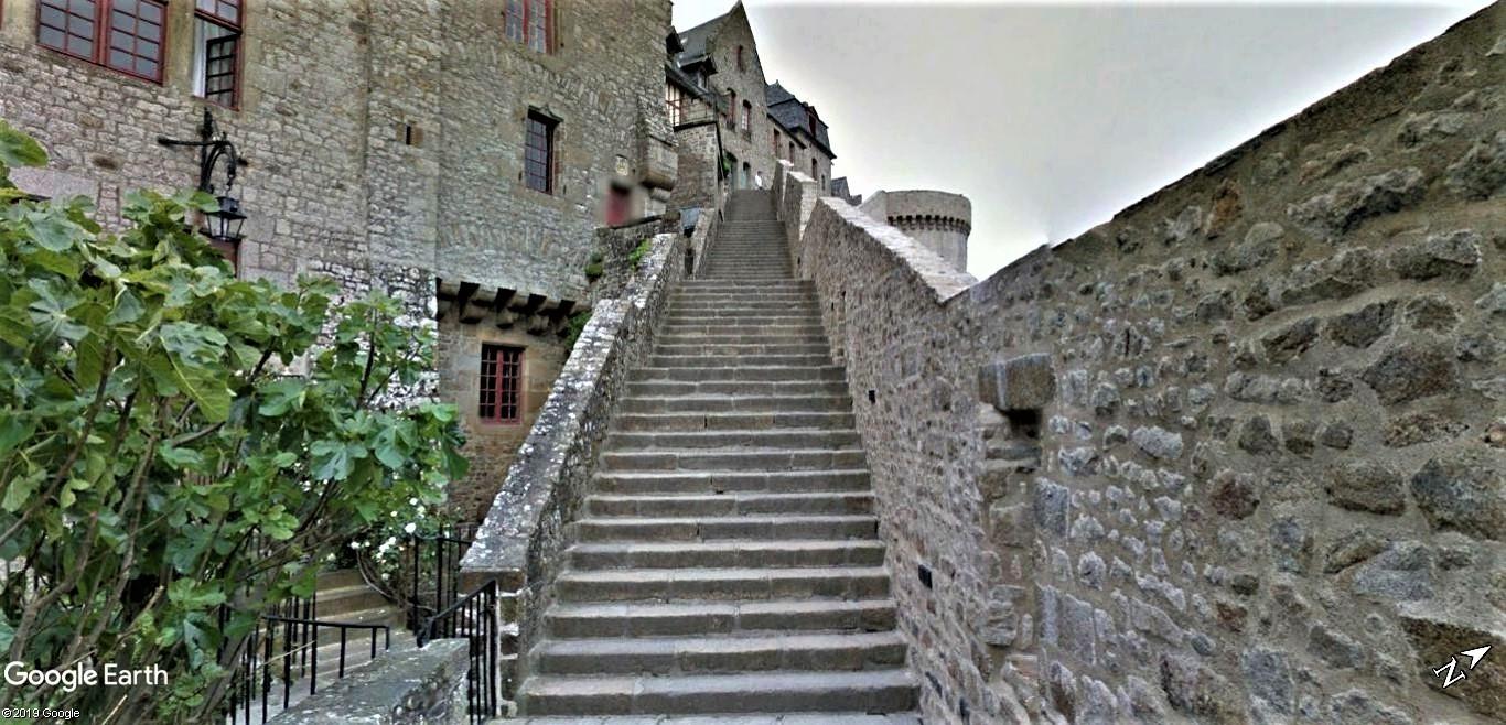Visite Google Earth du Mont-Saint-Michel en France !! !! Mont-s21