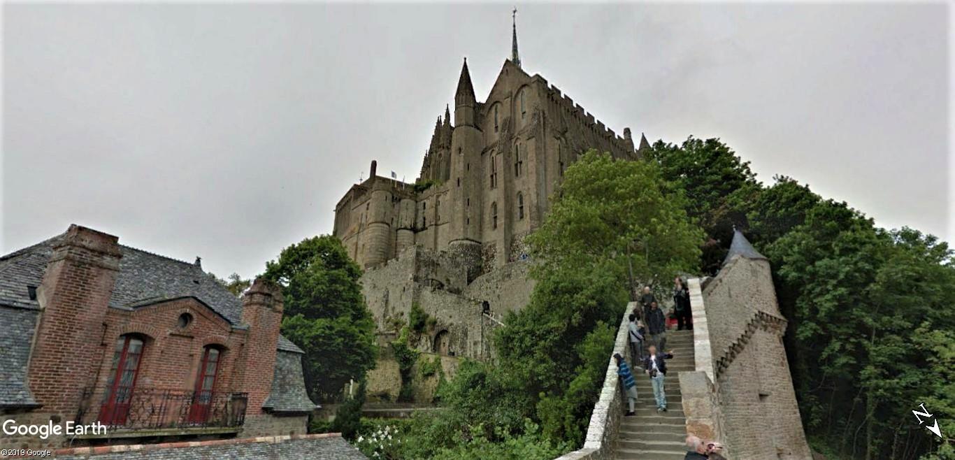 Visite Google Earth du Mont-Saint-Michel en France !! !! Mont-s22