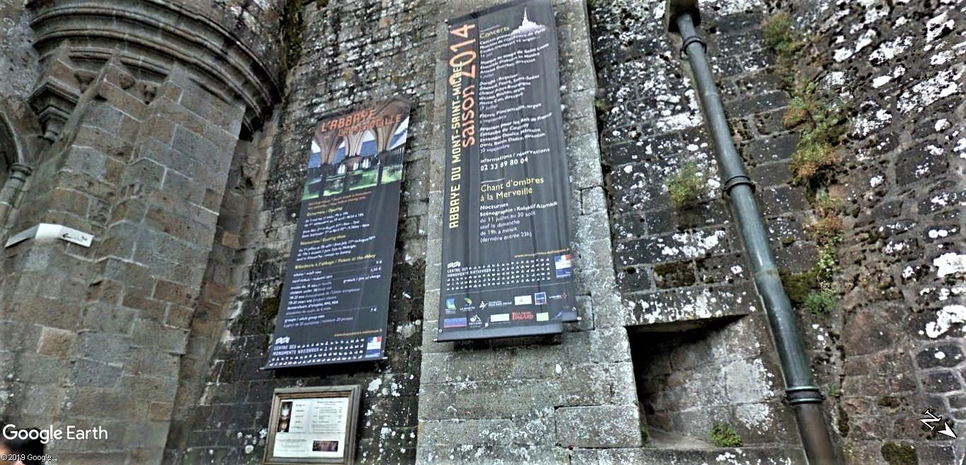 Visite Google Earth du Mont-Saint-Michel en France !! !! Mont-s25