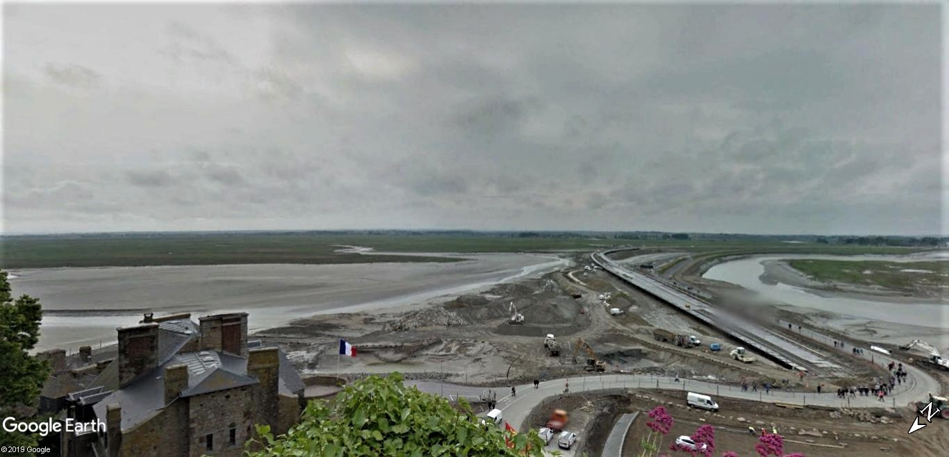Visite Google Earth du Mont-Saint-Michel en France !! !! Mont-s26