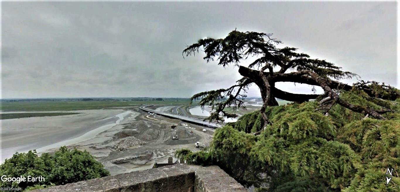 Visite Google Earth du Mont-Saint-Michel en France !! !! Mont-s27