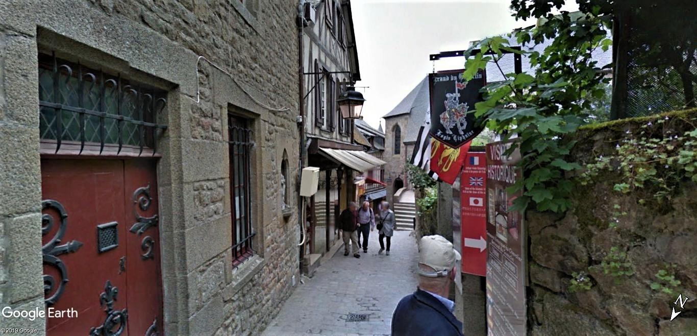 Visite Google Earth du Mont-Saint-Michel en France !! !! Mont-s28