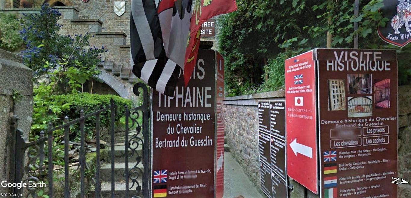 Visite Google Earth du Mont-Saint-Michel en France !! !! Mont-s29