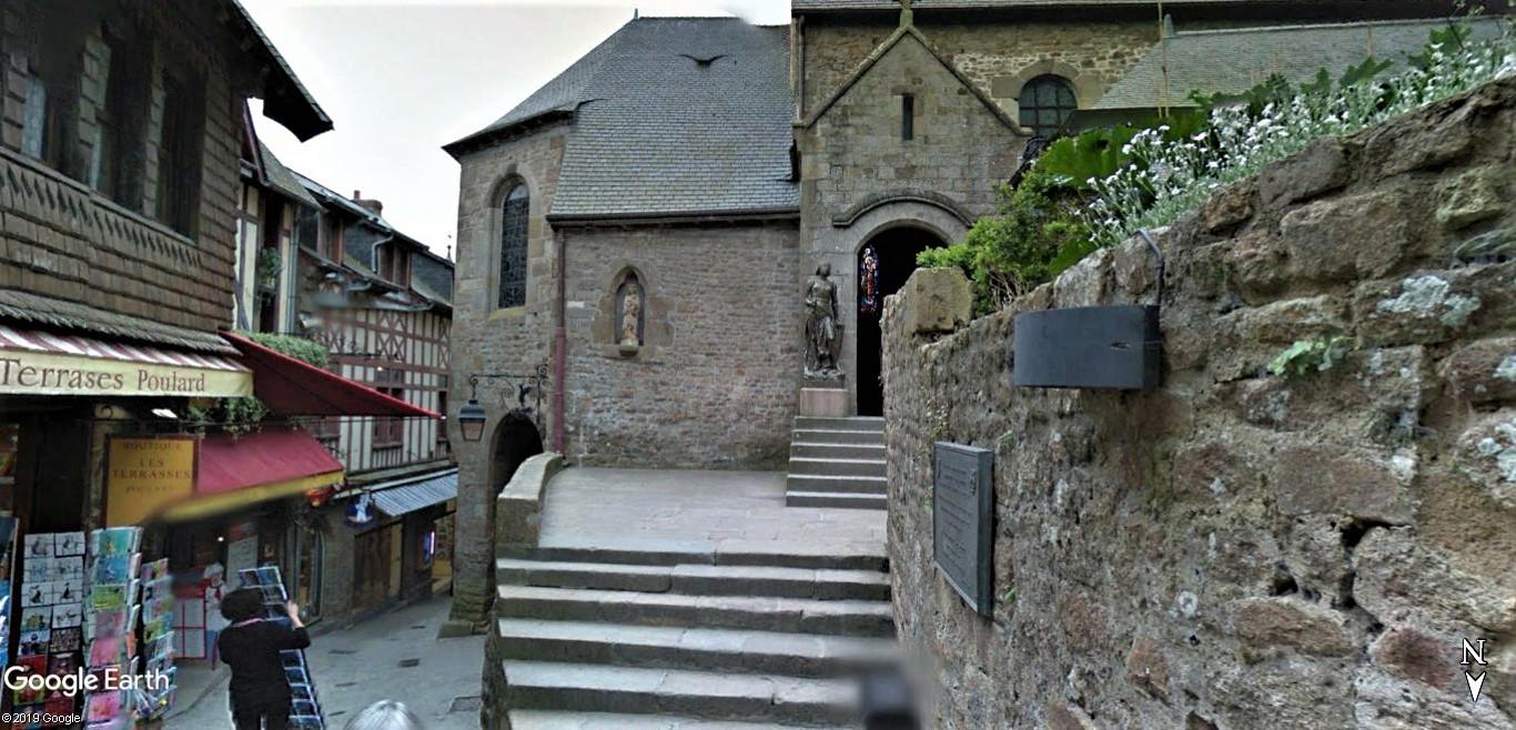 Visite Google Earth du Mont-Saint-Michel en France !! !! Mont-s30